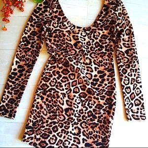 Forever 21 Cheetah Party Dress